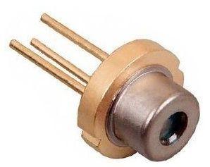 Diodo Laser de 5 V 200 mWatts Vermelho(650 nm)