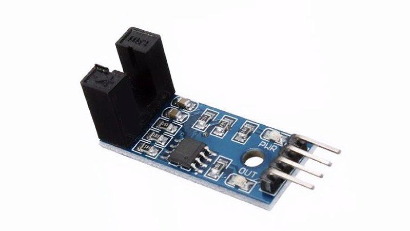 Sensor de Velocidade IR com disco encoder