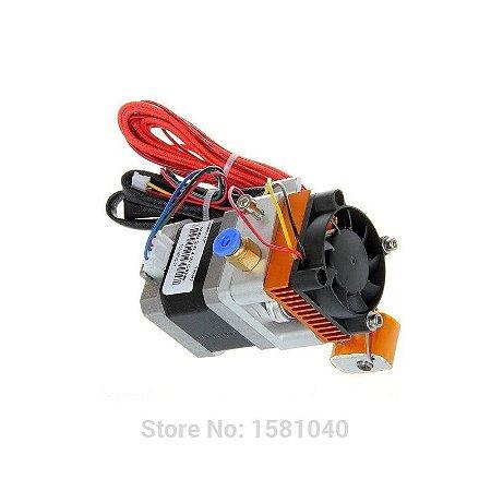 MK8 Extrusora Direta (Nema 17) para Filamento de 1.75 mm (motor e ventilador com conectores para a Ramps 1.4)