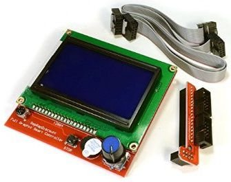 DISPLAY e LCD para RAMPS 1.4 com leitor SD integrado