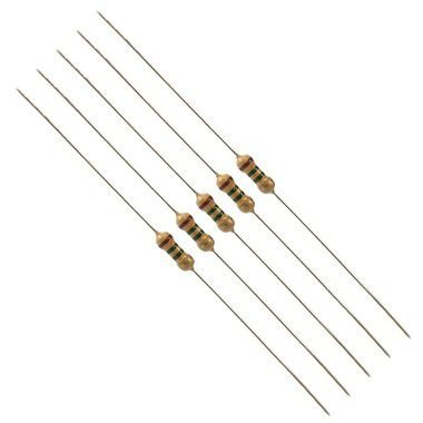 Resistor 120R Kit 10 peças 1/4W 5%