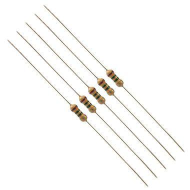 Resistor 3K3 Kit 10 peças 1/4W 5%