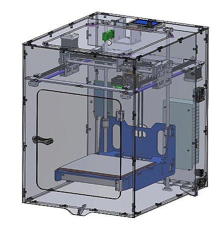 Kit completo Impressora 3D MartaLab