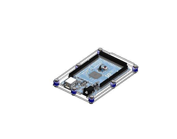 Case Para Arduino Mega 2 camadas