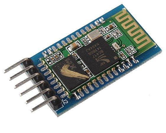 Módulo Bluetooth HC-05 2 em 1 (master/slave) TTL 5V 6 pinos