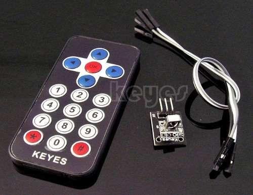 Controle Remoto IR com Receptor VS1838B