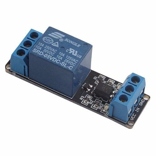 Modulo eletronico de 1 rele 5V 10A acionado em GND