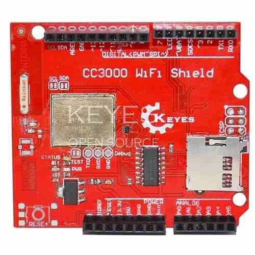 WiFi Shield CC3000
