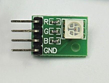Modulo eletronico de LED  RGB