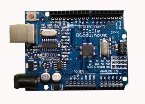 Uno R3 SMD chip(CH340G) (Compatível com Arduino) com Cabo USB