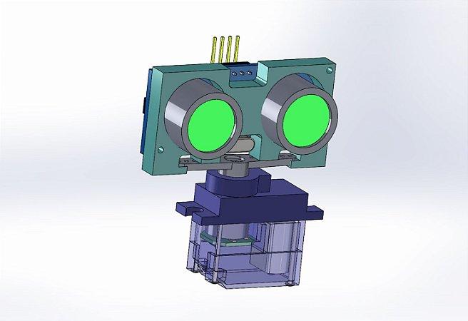 Suporte para Ultrassom HC-SR-04
