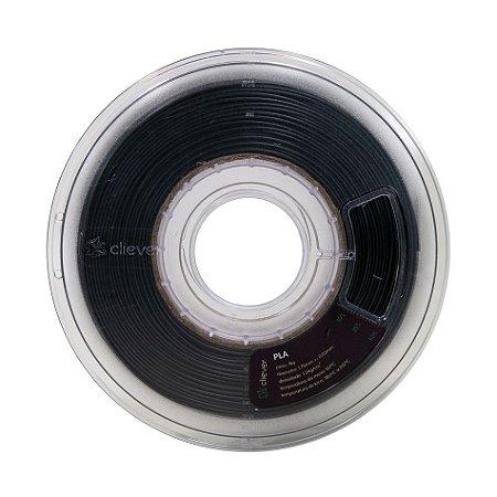Filamento PLA Cliever - Preto - 1kg - 1.75 mm
