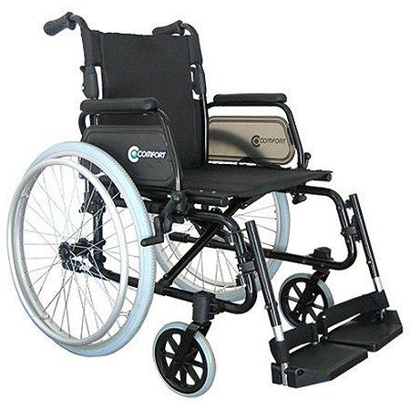 Cadeira de Rodas de Alumínio - Comfort Praxis SL-7100A-FB-24