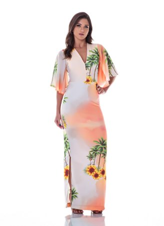 Vestido Longo Girassol