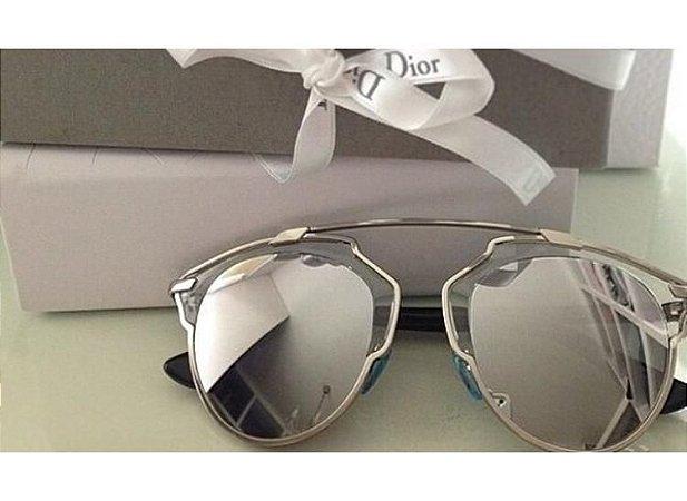 1be6a418bfc71 Óculos Dior So Real Prata - Dalu Importados