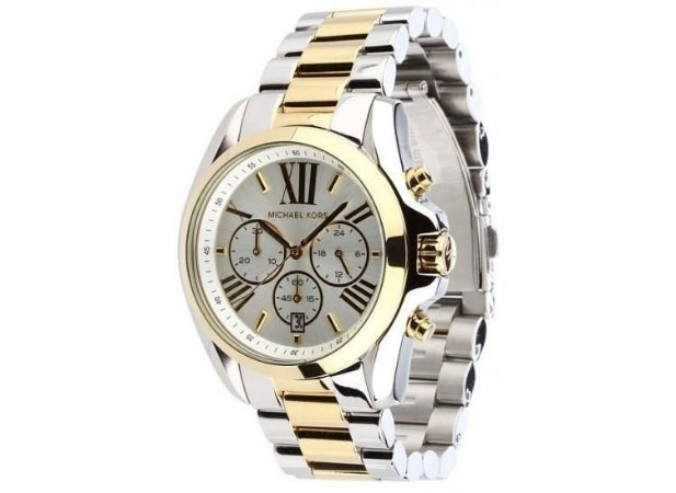 9b52baa679d Relógio Michael Kors Mk5627 Prata e Dourado - Dalu Importados