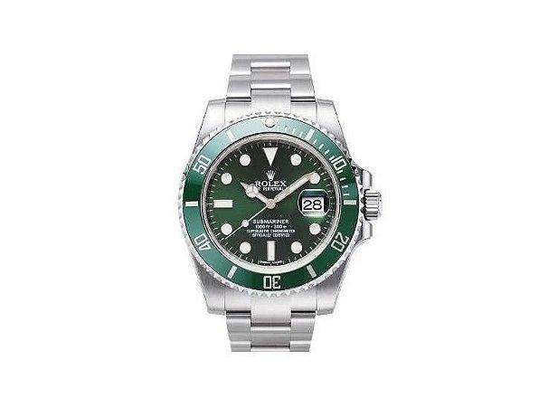 14e7cc19ad8 Relogio Rolex Submariner Green Dial - Dalu Importados