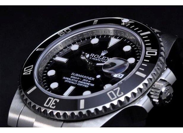 845ff3f0172 Relogio Rolex Submariner Black - Dalu Importados