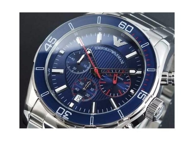 830db5060c5 Relógio Emporio Armani Ar5933 Prata