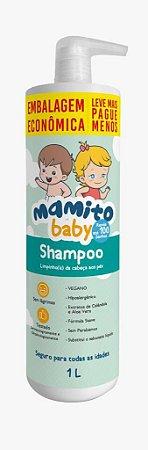 Shampoo Hipoalergênico 1 Litro - Mamito Baby