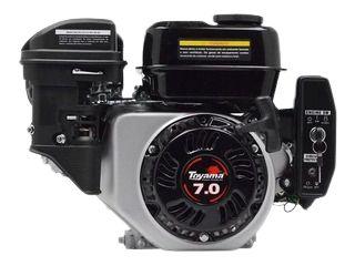 MOTOR TOYAMA GASOLINA 7,0 HP TE70 COM SENSOR OLEO