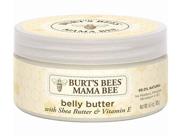 Burt's Bees Mama Bee Belly Butter, Loção Sem Fragrância - 185g
