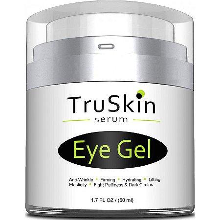 Truskin Best Eye Gel Para Rugas, Olheiras - 50ml