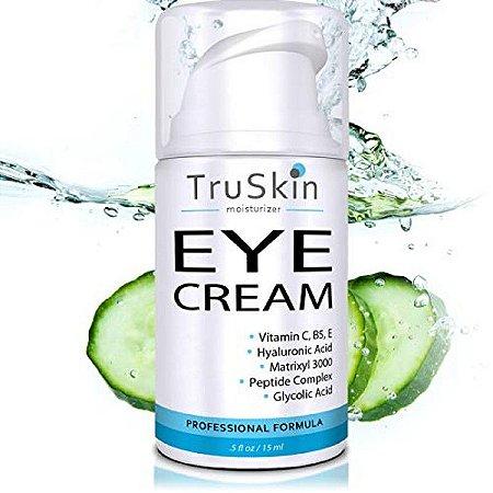TruSkin Naturals Eye Creme Antienvelhecimento - 15ml