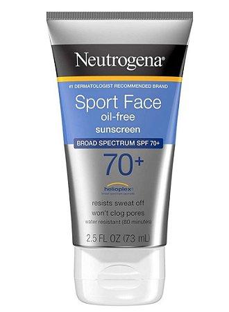 Neutrogena Protetor Solar Ultimate Sport Face SPF 70+ 73ml