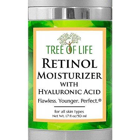 Tree Of Life Creme Retinol Moisturizer Facial - 50ml