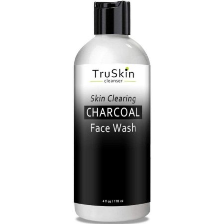 TruSkin Cleanser Skin Clearing Charcoal Face Wash - 118ml