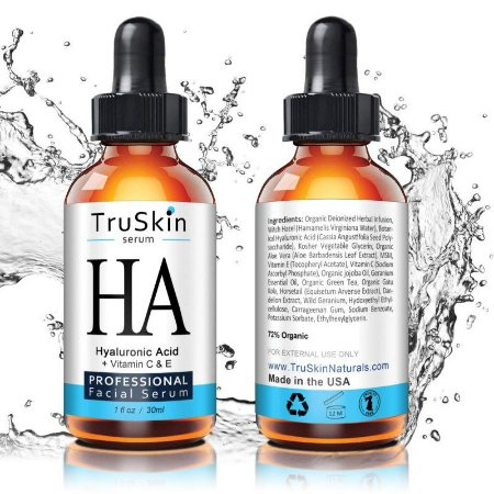 TruSkin Serum HA Hyaluronic Acid e Vitamin C & E - 30ml