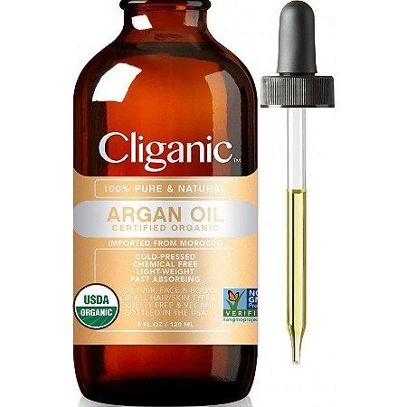 Cliganic 100% Pure & Natural Argan Oil - 120ml