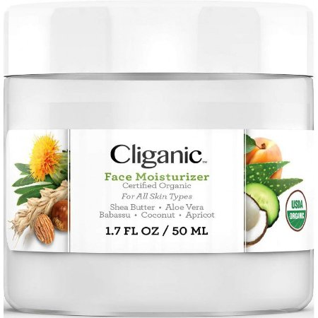 Cliganic Organic Face Moisturizer - 50ml
