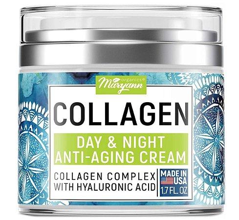 Maryann Organics Collagen Day & Night Cream - 50ml