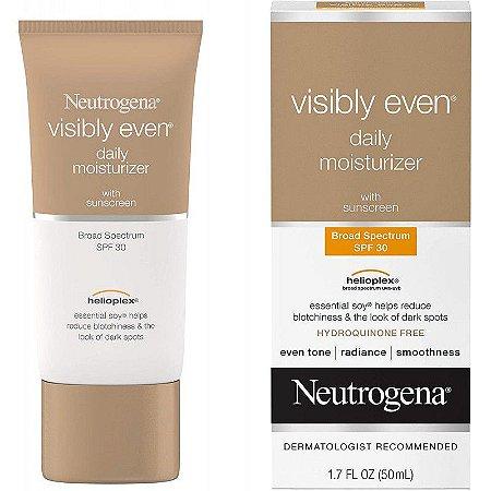 Neutrogena Visibly Even Daily Moisturizer SPF 30 - 50ml