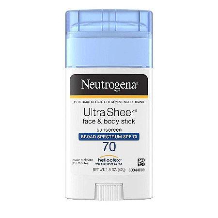 Neutrogena Ultra Sheer Face & Body Stick SPF 70 - 42g