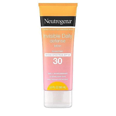 Neutrogena Invisible Daily Defense Lotion Broad Spectrum SPF 30 - 88ml