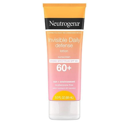 Neutrogena Invisible Daily Defense Lotion Broad Spectrum SPF 60+ 88ml