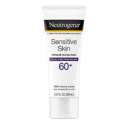 Neutrogena Sensitive Skin Lotion Broad Spectrum SPF 60+ 88ml