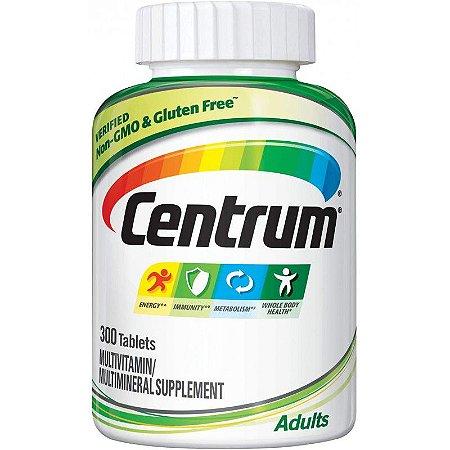 Centrum Multivitamínico Adulto Multimineral - 300 Comprimidos