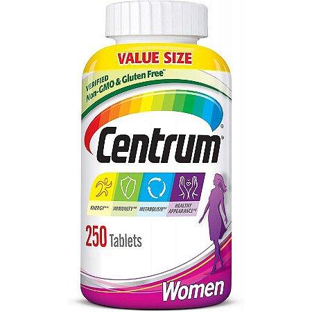 Centrum Multivitamínico Women - 250 Tabletes