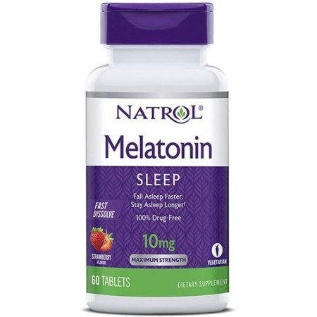 Natrol Melatonin Sleep 10mg Fast Dissolve - 60 Tablets