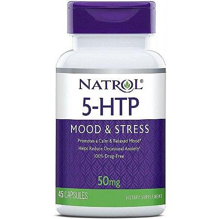 Natrol 5-HTP Mood & Stress 50mg - 45 Capsules