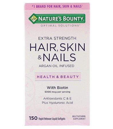 Nature's Bounty Optimal Solutions Hair, Skin & Nails - 150 Softgels