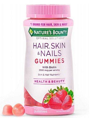 Nature's Bounty Hair, Skin & Nails With Biotin 2500mcg - 140 Gommies