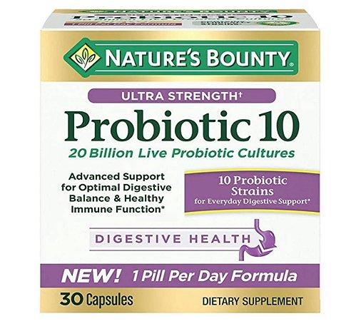 Nature's Bounty Ultra Strength Probiotic 10 - 30 Capsules