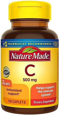 Nature Made Vitamin C 500mg - 130 Tablets