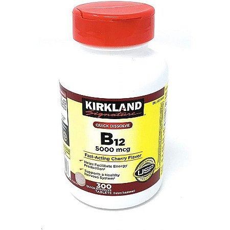 Kirkland Signature Quick Dissolve B-12 5000 mcg - 300 Tablets