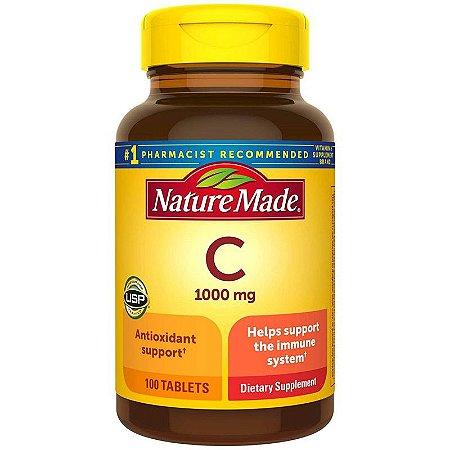 Vitamina C 1000 mg Nature Made - 100 Comprimidos